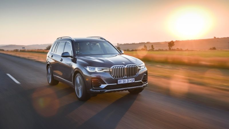 The first-ever BMW X7 now available in South Africa