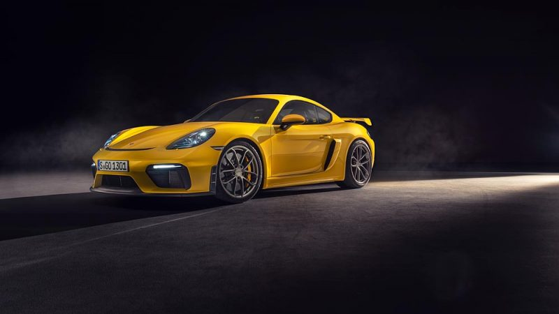 The Porsche 718 Spyder and 718 Cayman GT4